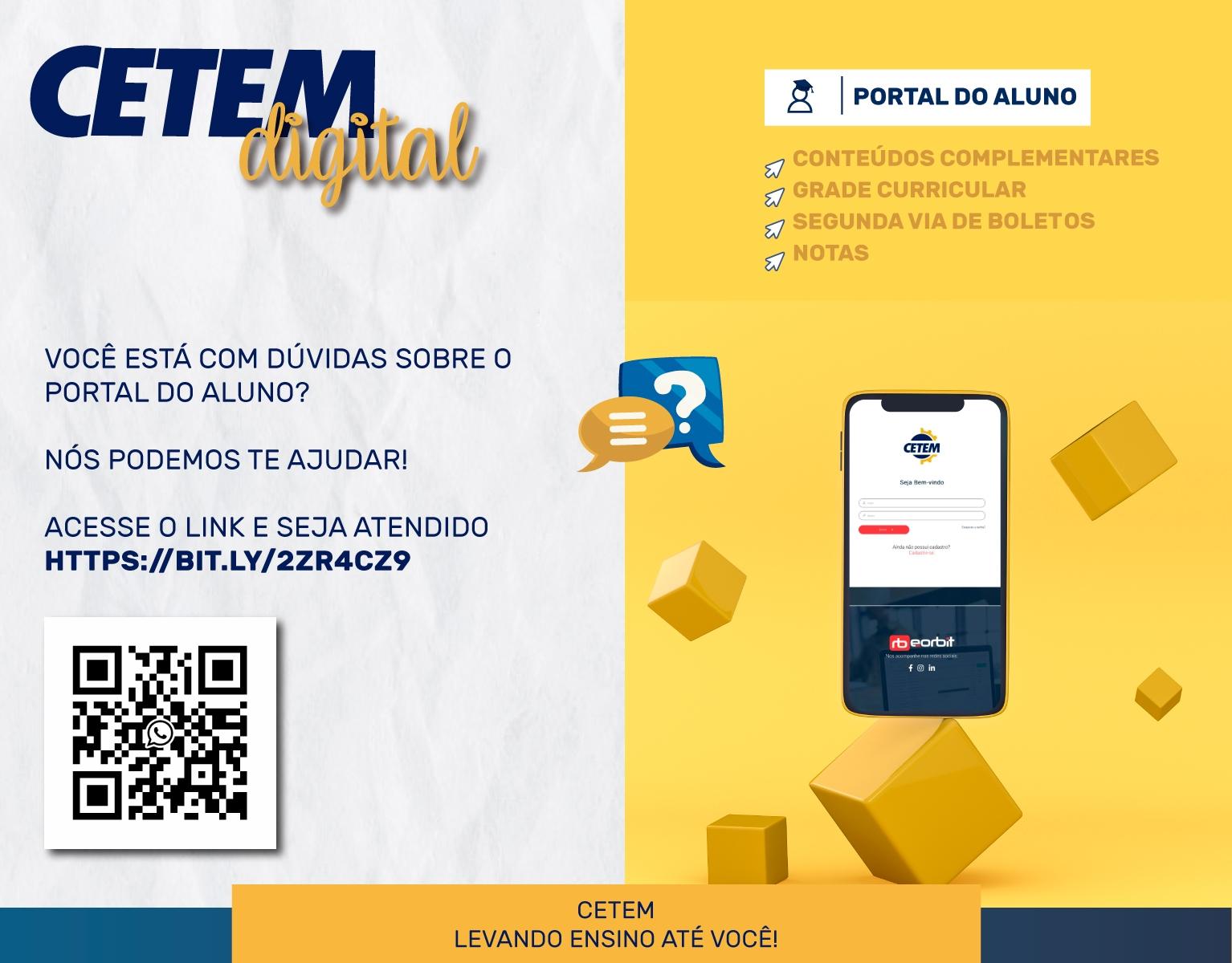 CETEM Digital: Suporte WhatsApp