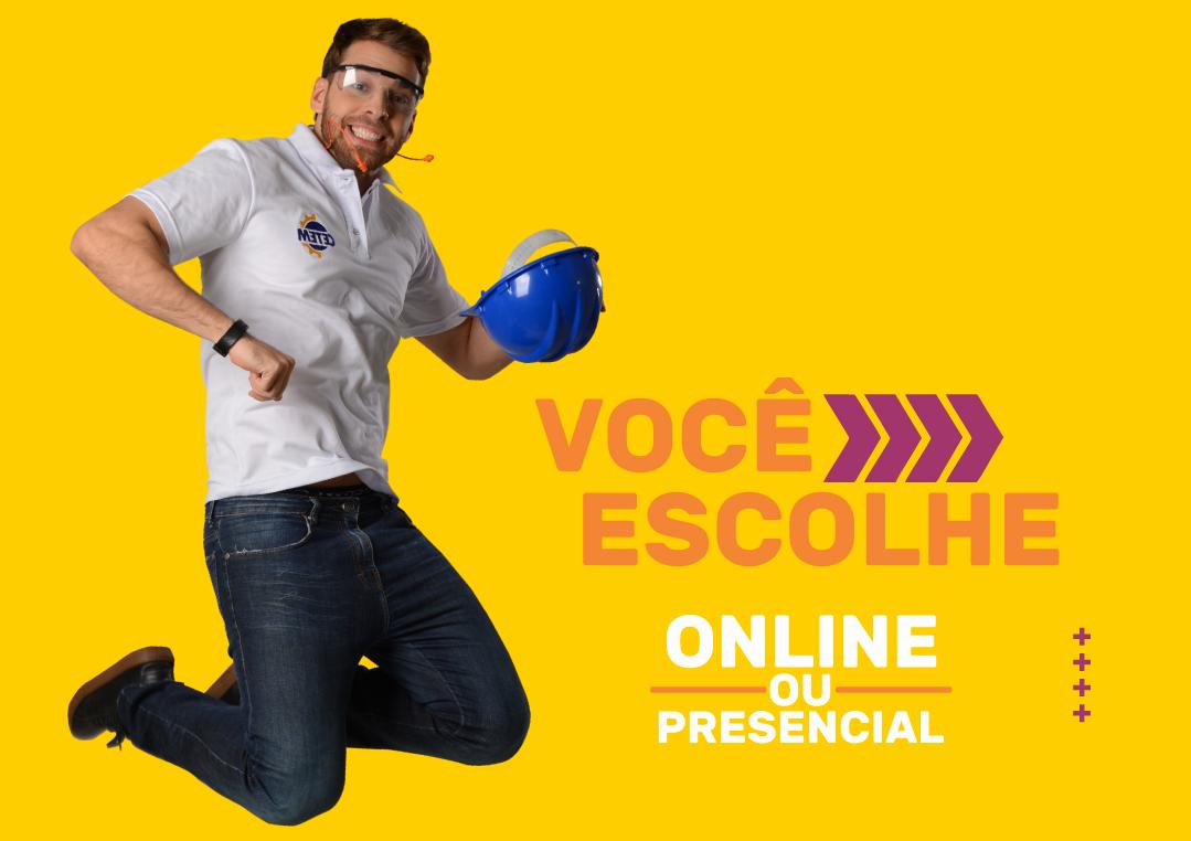 CETEM: Cursos Técnicos Online ou Presencial